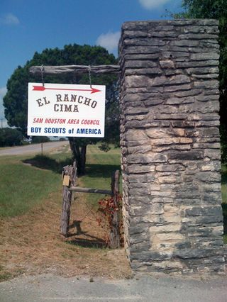 El Rancho Cima sign