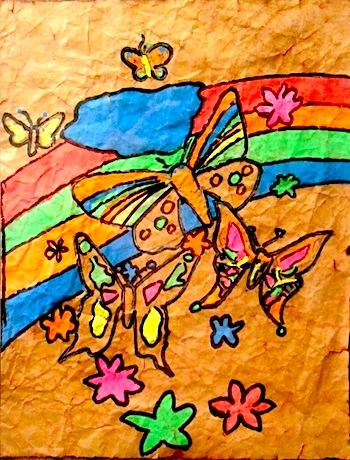 Rainbow Butterfly Lake by Ben Workman