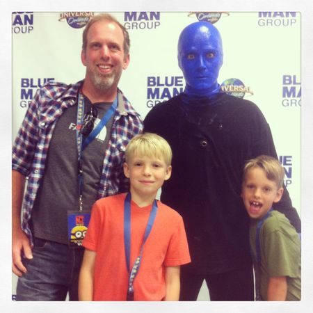 Blue Man Group Whit Honea