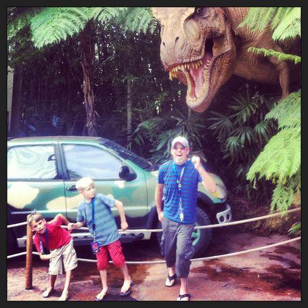 Jurassic Park Universal Studios Whit Honea